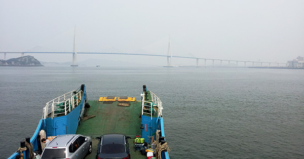 A bridge near Mokpo
