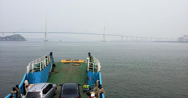 A bridge near Mokpo