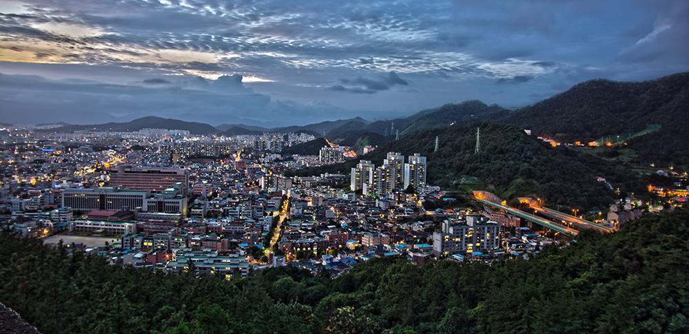 Gwangju at Night