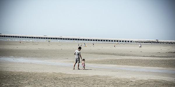Koreans at Beach