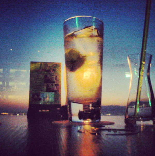 Drinks on top of the world