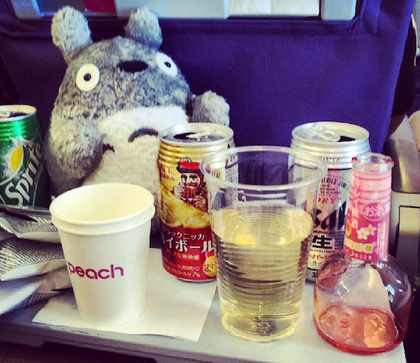 In-flight Booze