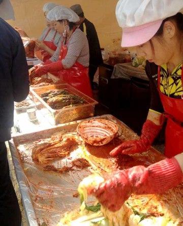 Kimchi Stand