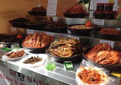 Piles of Kimchi
