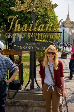 Nicole at the Grand Palace