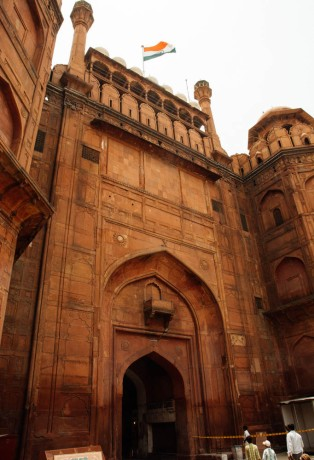 The Gate to Red Fort