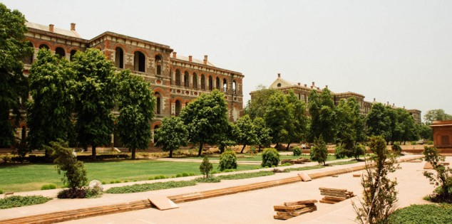 British Military Barracks in Red Fort