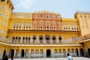 Hawa Mahal from the Courtyard