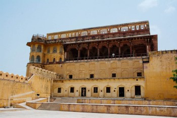 The Amber Palace Courtyard