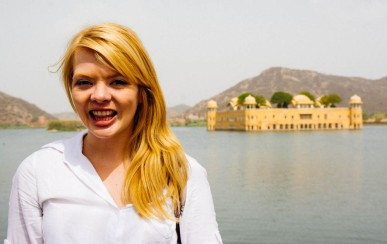 Nicole and Jal Mahal
