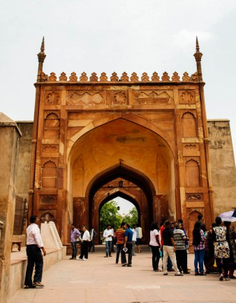 Agra Fort Gate