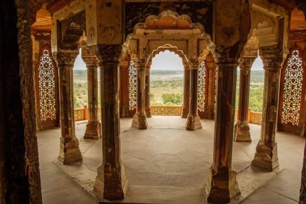 Agra Fort Interior