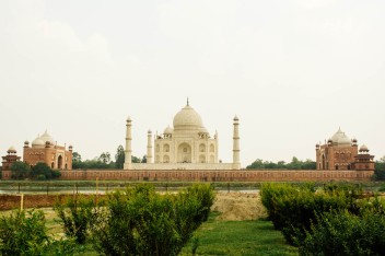 Taj Mahal from the Mehtab Bagh
