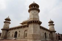 The Minarets of the Mausoleum of Etimad-ud-Daulah