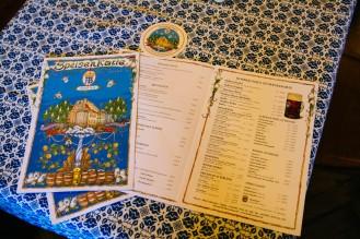 Hofbrau Menus and Coasters