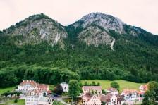 The town of Hohenschwangau