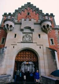 The Entrance to Neuschwanstein Castle