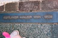 Small Berlin Wall Memorial