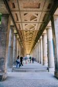 Outside the Pergamon Museum