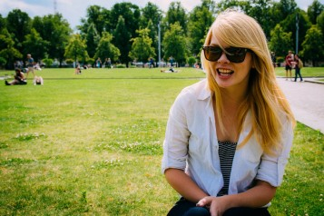 Nicole in the Lustgarten