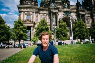 Me in the Lustgarten