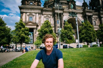 Me in the Lustgarten