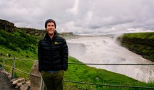 Me at Gullfoss Waterfall