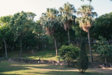 The grounds of Fort Santo Domingo