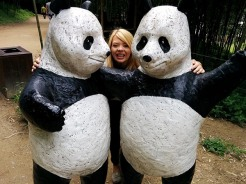Nicole and Pandas