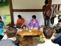 Traditional Korean Tea Ceremony