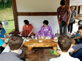 Traditional Korean Tea Ceremony