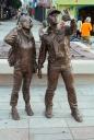 Selfie Statue
