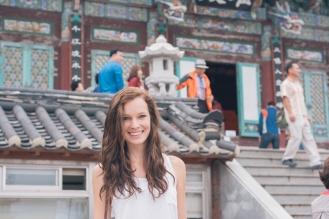 Kiana at Yonggungsa Temple