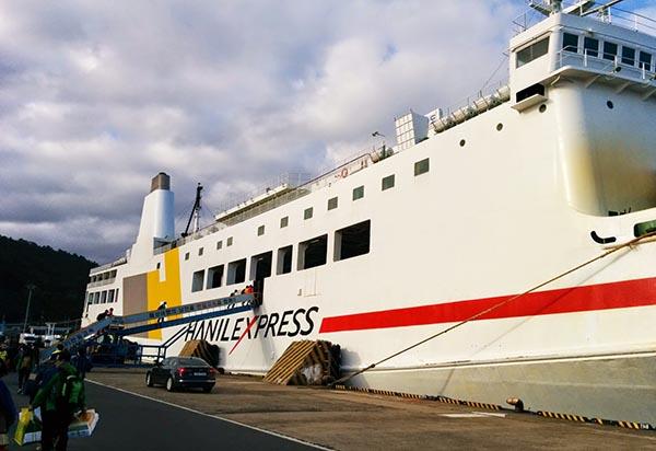 Ferry from Jeju