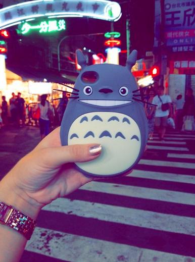 Nicole's Totoro Phone Case