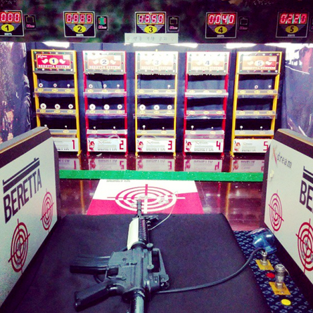 BB gun shooting range