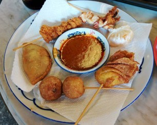 Delicious mysterious fried things