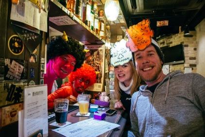 Celebrating Setsubun with Oni masks