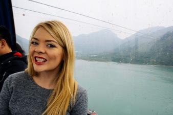 Riding the Gondola