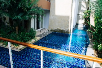 1st floor rooms have their own pool