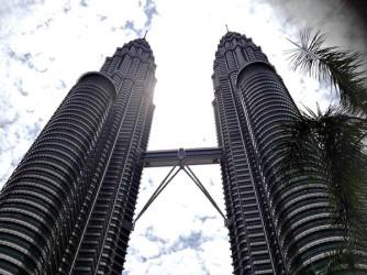 Petronas Towers from Below